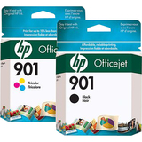 HP 901 Ink Cartridge - Black, Cyan, Magenta, Yellow CN069FC#140