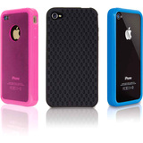 dreamGEAR ISOUND-1592 Skin for Smartphone - Black, Pink, Blue
