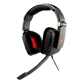 Tt eSPORTS Shock HT-SHO001EC Headset - Surround - Black - USB