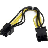 StarTech.com 8in 6 pin PCI Express Power Extension Cable PCIEPOWEXT