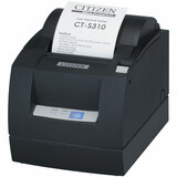 CT-S310II-U-BK - Citizen CT-S310II Direct Thermal Printer - Monochrome - Desktop - Receipt Print