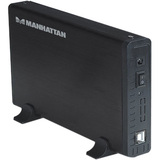 MANHATTAN 709026 Storage Enclosure - External - Black