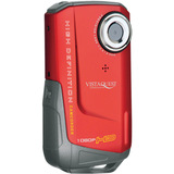 VistaQuest DV-820 Digital Camcorder - 2 LCD - CMOS - Red
