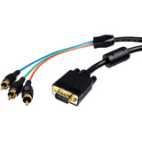 Cables Unlimited PCM-2330-10 Component Video Cable Adapter for Monitor