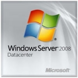 Microsoft Windows Server 2008 R.2 Datacenter With Service Pack 1 64-bit - License and Media - 2 CPU P71-06484