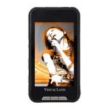 Visual Land V-Touch Pro ME-965 4 GB Black Flash Portable Media Player