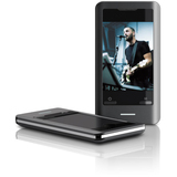 Coby MP827 8 GB Black Flash Portable Media Player MP827-8G-BLK