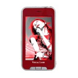 Visual Land V-Touch Pro ME-965 4 GB Red Flash Portable Media Player