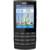 Nokia X3-02 Cellular Phone - Bar - Black, Metal