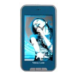 Visual Land V-Touch Pro ME-965 4 GB Blue Flash Portable Media Player