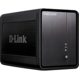 Dlink DNS-325 2-BAY Network Storage NAS 1 GBLAN RAID 0/1/JBOD With USB Printer Port & Streaming Apps