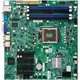 Supermicro X9SCM-F Server Motherboard - Intel C204 Chipset - Socket H2 LGA-1155 - Bulk Pack MBD-X9SCM-F-B