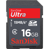SanDisk Ultra SDSDH-016G-U46S 16 GB Secure Digital High Capacity (SDHC) - 1 Card SDSDH-016G-U46S
