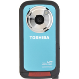 "Toshiba Camileo BW10 Digital Camcorder - 2"" LCD - CMOS - Full HD - Turquoise PA3897C-1CAL"