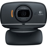 Logitech C525 Webcam - Black - USB 2.0 - 1 Pack(s) 960-000715