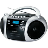 Supersonic Portable MP3/CD Cassette Recorder with AM/FM Radio, USB/SD and Aux Inputs SC-183UM