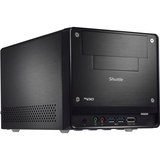 Shuttle XPC SH67H3 Barebone System Small Form Factor - Intel H67 Express Chipset - Socket H2 LGA-1155 - 1 x Processor Support - Black SH67H3