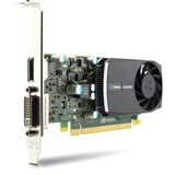 HP Quadro 400 Graphic Card - 512 MB DDR3 SDRAM - PCI Express 2.0 x16 - Half-height LD542AA
