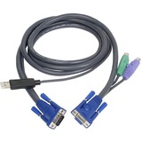 IOGEAR PS/2 to USB KVM Intelligent Cable G2L5502UP