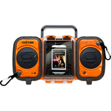 Grace Digital Eco GDI-AQ2SI60 2.0 Speaker System - Orange - GDIAQ2SI60