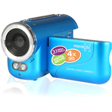 "Hip Street Digital Camcorder - 1.5"" LCD - DV - Blue CM-ME-MP136-BL"