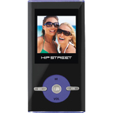 Hip Street HS-T29 2 GB Blue Flash Portable Media Player HS-T29-2GBBL