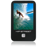 Hip Street HS-2802 8 GB Black Flash Portable Media Player HS-2802-8GB