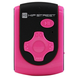 Hip Street 4 GB Flash MP3 Player - Pink HS-601-4GBPN