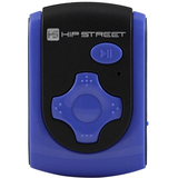 Hip Street 4 GB Flash MP3 Player - Blue HS-601-4GBBL