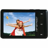 Hip Street HS-57 4 GB Black Flash Portable Media Player HS-57-4GBBK