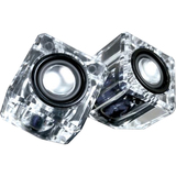 i.Sound DGUN-2527 2.0 Speaker System - Transparent - DGUN2527