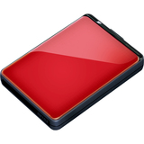 Buffalo MiniStation Plus HD-PNTU3 500 GB External Hard Drive - Red HD-PNT500U3R