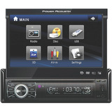 "Power Acoustik PTID-8920 Car DVD Player - 7"" Touchscreen LCD Display - - PTID8920"
