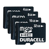 DU-2IN1-32G-R - Duracell DU-2IN1-32G-R 32 GB microSD High Capacity (microSDHC) - 1 Card