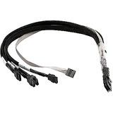 Adaptec Data Transfer Cable - SAS/SATA for Hard Drive - 2.30 ft - 4 x SFF-8087 Mini-SAS - 4 x SFF-8448 SATA