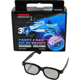 Toshiba Part Pack 3D Glasses FPT-P100UP