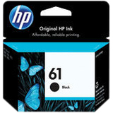 HP No 61 Ink Cartridge - Black - CZ073FN140