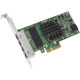 Intel I350-T4 Gigabit Ethernet Card - PCI Express - I350T4BLK