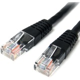 StarTech.com 6 ft Black Molded Cat5e UTP Patch Cable