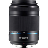Samsung 50 mm - 200 mm f/4 - 5.6 Telephoto Zoom Lens for Samsung NX - EXT50200IBUS
