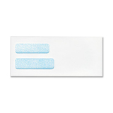 Quality Park Double Window Security Envelope CO133