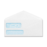 Quality Park POLY-KLEAR Double-window Security Envelope CO165