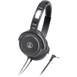 Audio-Technica ATH-WS55 Headphone - Stereo - Black - Mini-phone - ATHWS55BK