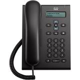 Cisco 3905 IP Phone - Cable - Wall Mountable, Desktop - Charcoal