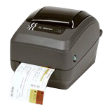 Zebra GX430t Direct Thermal/Thermal Transfer Printer - Monochrome - Desktop - Label Print GX43-102510-000