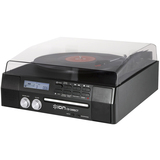 Ion Audio Digital Conversion Turntable with Built-In CD Recorder and Speakers IT18