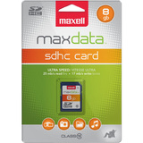 Maxell 501302 8 GB Secure Digital High Capacity (SDHC) - 1 Card/1 Pack - 501302