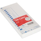 Pyramid 500/3700 Time Clock Universal Time Cards