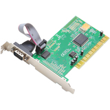 SYBA Multimedia 1 DB-9 Serial (RS-232) Port PCI Controller Card, Netmo - SDPCI1S
