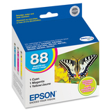 Epson DURAbrite 88 Moderate Capacity Multi Pack Ink Cartridge T088520-S